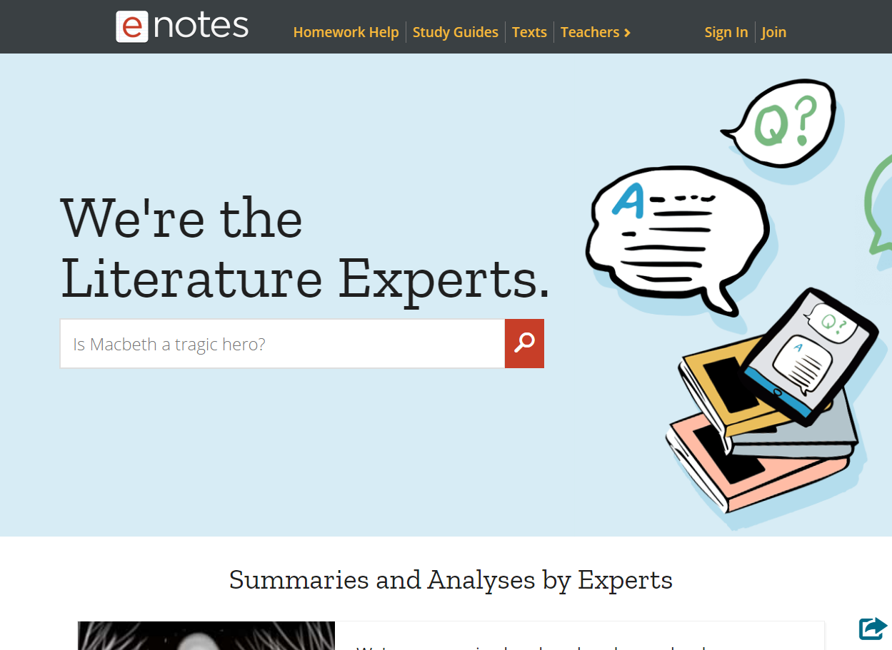 enotes review