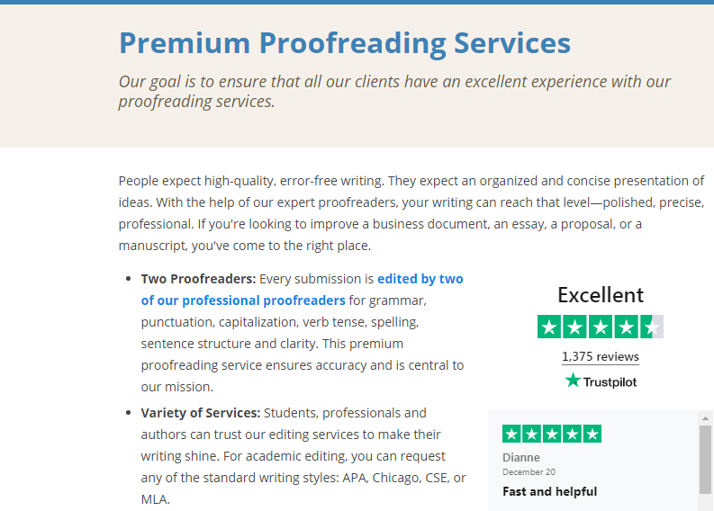 ProofreadingPal.com Review