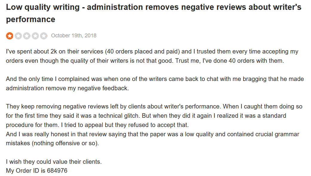 StudyBay Customer Review 3